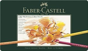 Faber-Castell 艺术家彩色铅笔120色