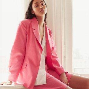 低至3折 €16.99就收H&M 小西装外套热卖 设计感与实用性兼具 初秋必备