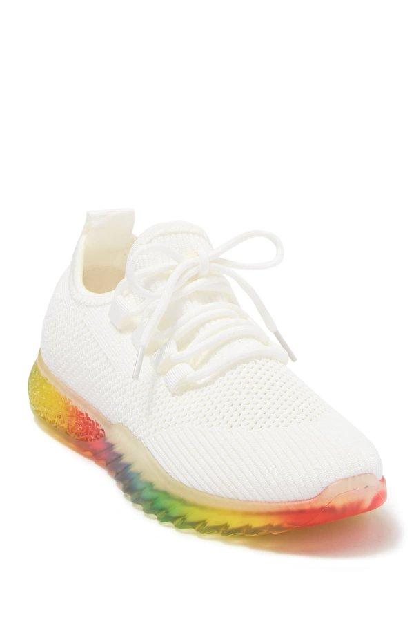 透明底运动鞋