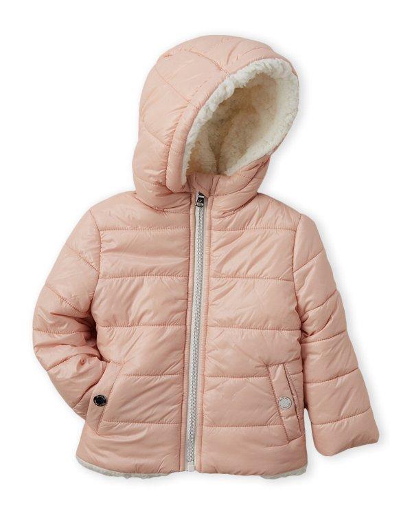 女小童保暖棉服外套