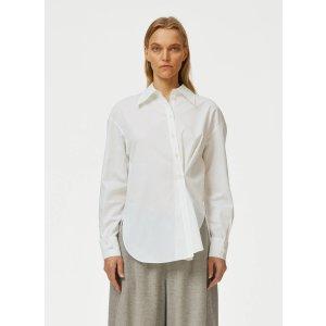 TibiMiles Shirting Split Cuff Oversized Shirt