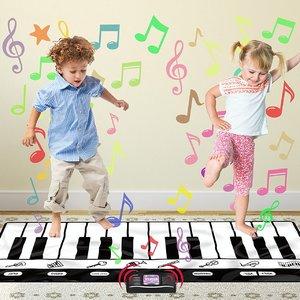 $28.99(原价$111.99)Play22 71寸24键音乐键盘游戏毯