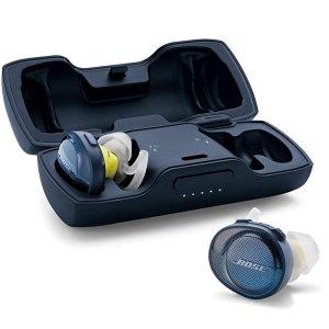 $199.99(原价$249.99)Bose Soundsport Free 无线耳机 午夜蓝更神秘