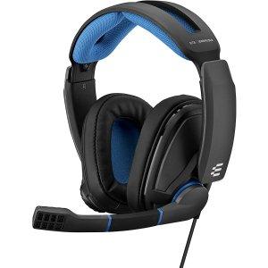 $59.98(原价$89.00)史低价:Sennheiser GSP 300 舒适包耳式电竞耳机