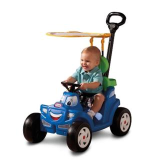 $44.97(原价$89.99)Little Tikes豪华2合1四轮汽车造型推车/手拉车