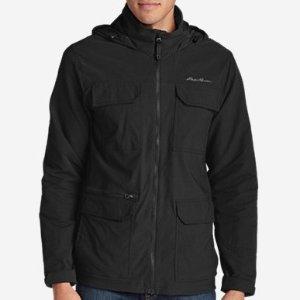 现价$74.5 (原价$149) 多色可选Eddie Bauer 男款户外防寒外套促销