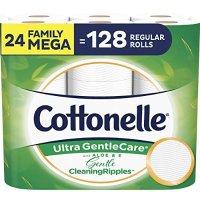 Cottonelle 温柔呵护卫生纸24卷超大家庭装 相当于128卷