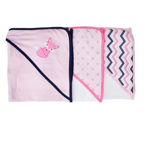 As Low As $5.67Luvable Friends Baby Cotton Terry Hooded Towels