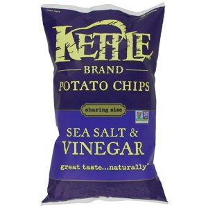 Kettle Chipsadd-on商品,需通过Subscribe & Save结账海盐醋味 220g