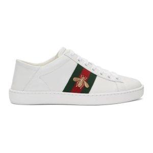 Gucci美國定價$650小白鞋