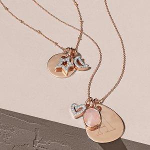 7折+送玫瑰金项链即将截止:Monica Vinader 全场精美项链、吊坠热卖