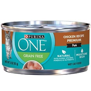 Purina ONE 鸡肉味无谷猫罐头 3oz 24罐