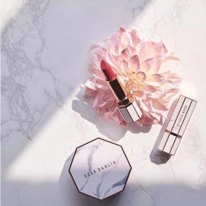 满额7.5折的摆拍神器限今天:Dear Dahlia 大理石纹彩妆热卖 ins热门颜值爆表品牌