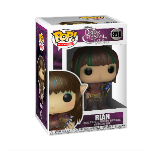 $2.50 原价$10白菜价:Funko POP! TV: 黑水晶 (Dark Crystal) - Rian 玩偶