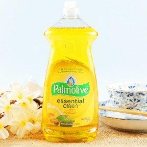 $1.4(原价$2.47)史低价:Palmolive 洗洁精 828ml大瓶装 柠檬/柑橘香味 厨房去油专家