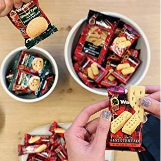 As Low As $5.29+Free ShippingWalkers Shortbread Fingers, Traditional Butter Shortbread Cookies, 2 Count (Pack of 24)