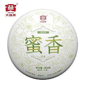 TAETEA 'Mi Xiang' Raw PU'ER TEA Cake Organic Black Tea 300 Grams