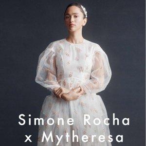 £95收珍珠水晶发夹Simone Rocha x Mytheresa 花嫁小礼服裙联名系列独家上架