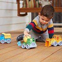 Green Toys 3辆工程车