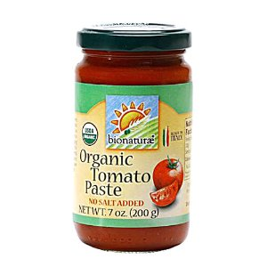 20% off with purchase $50+Organic Tomato Paste -- 7 oz