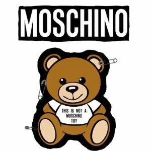 6折起 小熊TEE$65起Moschino 精选白菜价字母、可爱小熊美衣、美包热卖
