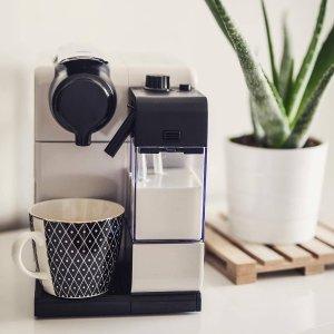 65折起 胶囊咖啡机 现价£187(原价£279.99)德龙De'Longhi 多款咖啡机热卖中 品质生活必备