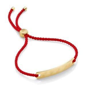 Monica Vinader小红绳