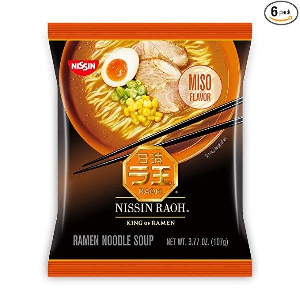 味增汤口味日本浓汤拉面 6袋装