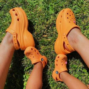 低至4折Crocs 凉鞋,洞洞鞋降价 冰雪奇缘儿童凉鞋$27.9