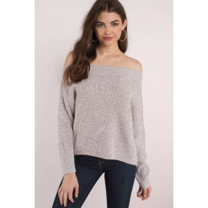TobiGenesis Off Shoulder Sweater