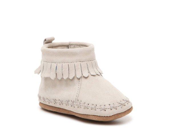 婴儿软底保暖鞋