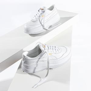 低至4.4折 $49收真皮小白鞋Puma 官网 白色专场 经典款运动鞋服热卖 清凉又时尚