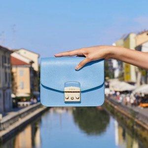 低至4折+最高立减$70最后一天:Furla 女士手袋热卖 Julia 方块包补货