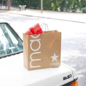 $25封顶+当日送达仅需$5Macys 精选节日礼物,肩颈热敷垫$12,Casio手表$20