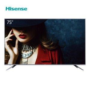 直降¥8499(原价¥10499)海信 HZ75E5A 75英寸4K AI电视