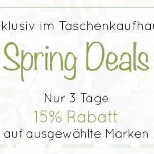 8.5折仅3天 日默瓦登机箱仅€365春季大促:Taschenkaufhaus 品牌箱包精选 新款经典款都参加