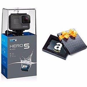 立减£100,只要£199Go Pro HERO5代黑色超低价热卖