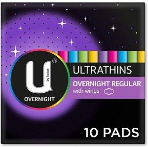 U by Kotex订阅享9折夜用卫生巾 , Pack of 10