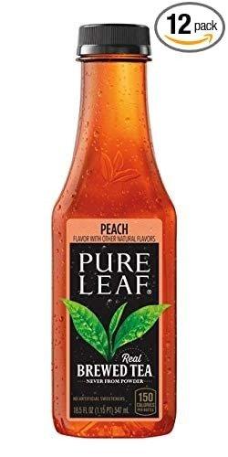 蜜桃口味冰红茶 12瓶装