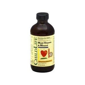 Child LifeMulti Vitamin & Mineral Liquid, Natural Orange/ Mango Flavor