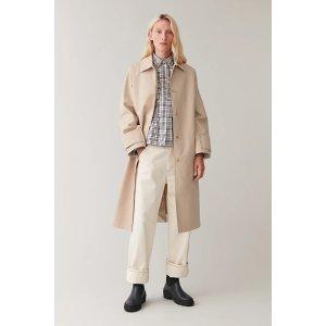 COS棉质大衣