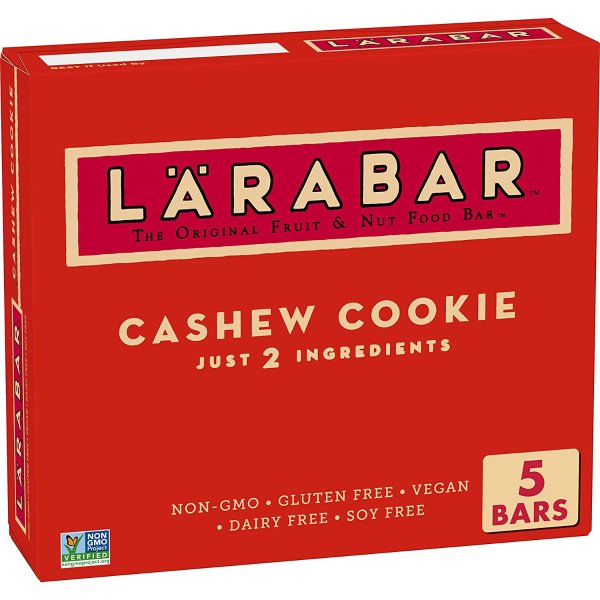 Larabar 腰果饼干果味健康零食棒 8.5 oz