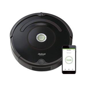 秒杀¥1556 销量冠军史低价:iRobot Roomba 671 Wi-Fi 扫地机器人