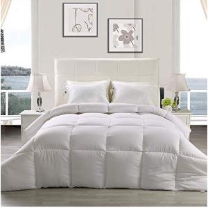 $29.99(原价$105.99)Utopia Bedding 仿羽绒四季空调被 - Queen尺寸