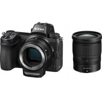 Nikon Z6 + 24-70mm f4 + FTZ 转接环