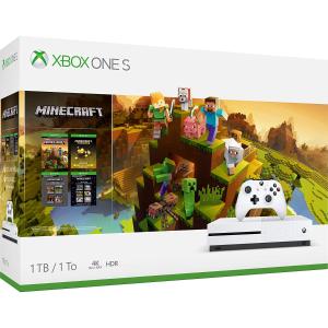 $229.95(原价$379.99)黒五价:Xbox One S 1TB 《我的世界》同捆套装