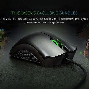$43.99Razer DeathAdder Essential Bundle + One Game