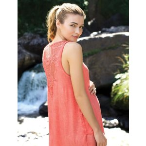 A Pea in the PodBack Interest Maternity Tank Top