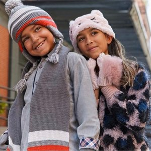 Up to 50% Off + Extra 60% OffKids Cold Weather Looks