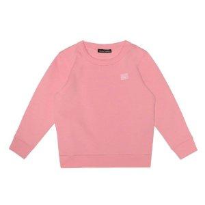 £90收封面粉色囧脸卫衣Acne Studios 大童装强势上新 娇小妹子速来